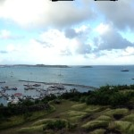 View from the fort on St Martin